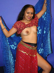Indian Woman with Wh..