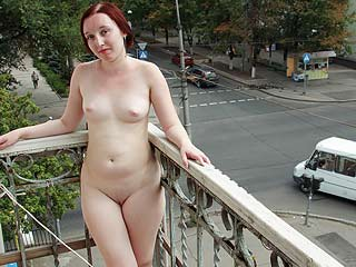Nudism on a Balcony