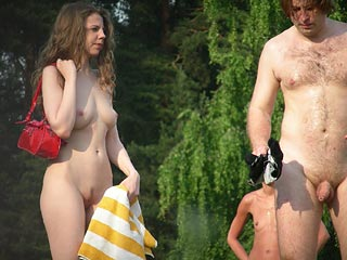 Naturist Girl and Guy