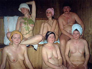 People in Sauna