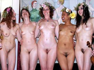 Happy Nudist Girls