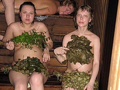 In Russian Sauna