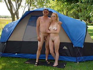 People in Nudist Camps