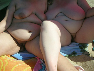 Fat Mature Nudists