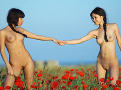 Nudists in Flower..