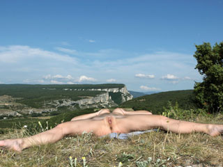 Mountain Nudist Models